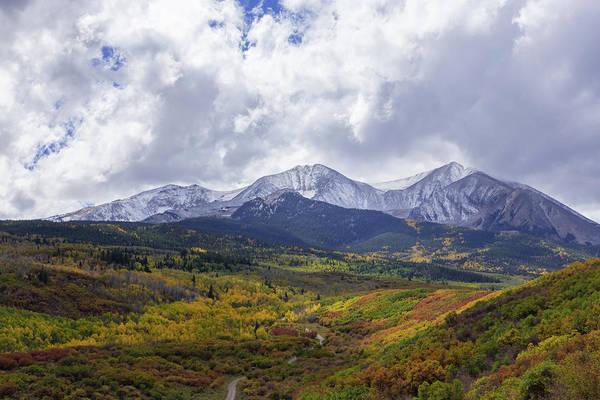 Wall Art - Photograph - Autumn Abounds Below Mt. Sopris by Bridget Calip