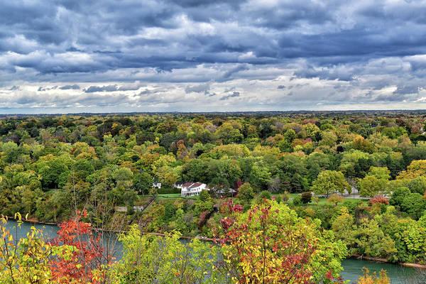 Southern Ontario Photograph - Autumn Along The Niagara River by Maria Keady