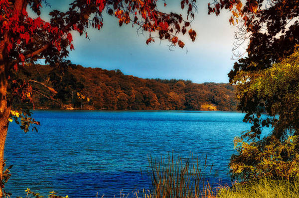 Wall Art - Photograph - Autumn At Argyle Lake by Thomas Woolworth