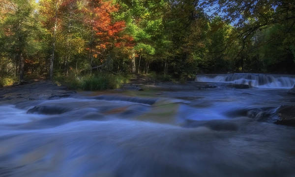 Wall Art - Photograph - Autumn At Bond Falls by Heather Kenward