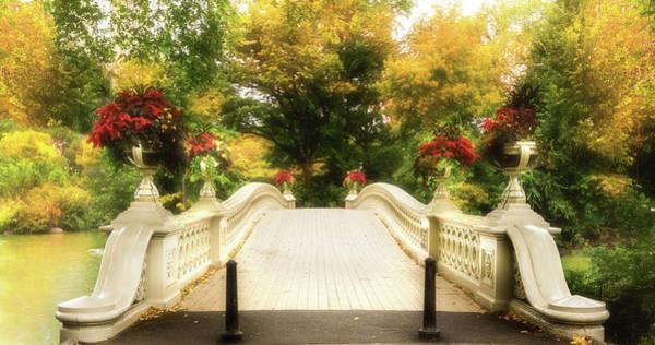 Photograph - Autumn At Bow Bridge by TL Mair