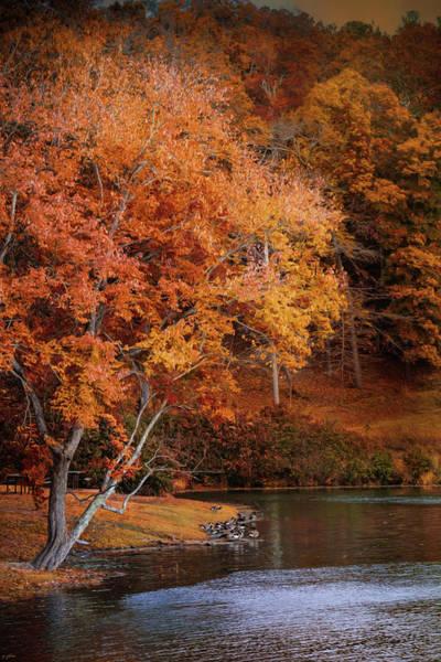 Photograph - Autumn At Chickasaw Lake by Jai Johnson