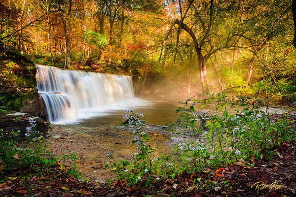 Photograph - Autumn At Hidden Falls by Rikk Flohr
