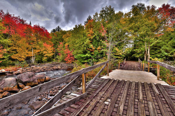 Photograph - Autumn At Indian Rapids by David Patterson