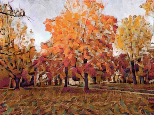 Photograph - Autumn At Lincoln University by Susan Maxwell Schmidt