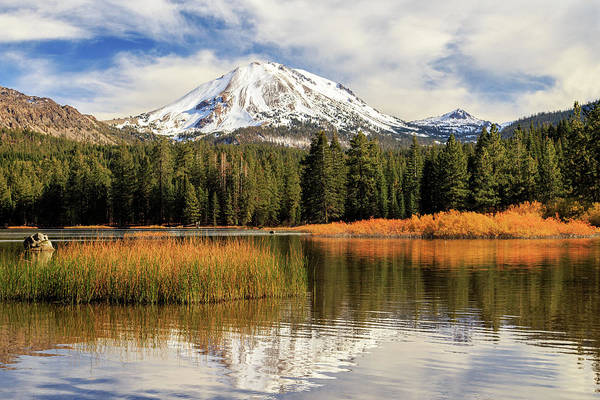 Photograph - Autumn At Mount Lassen by James Eddy
