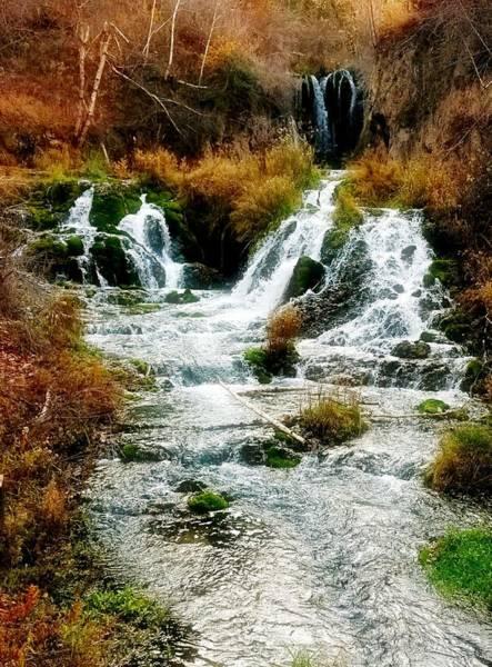 Photograph - Autumn At Roughlock Falls by Amanda Smith
