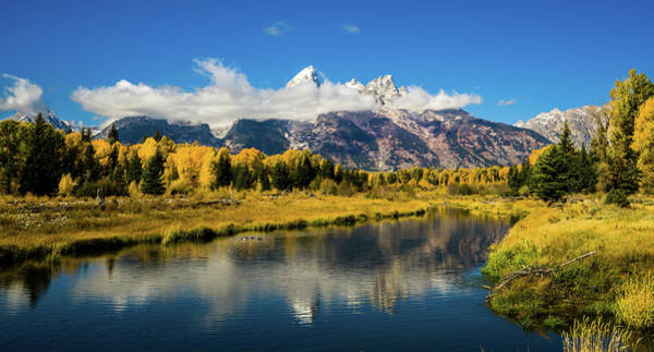 Photograph - Autumn At Schwabacher's Landing by TL Mair