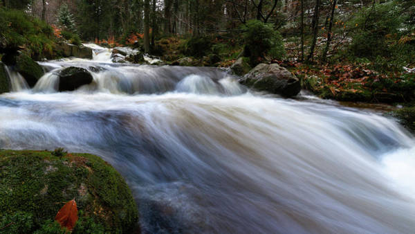 Photograph - Autumn At The Bode, Harz by Andreas Levi