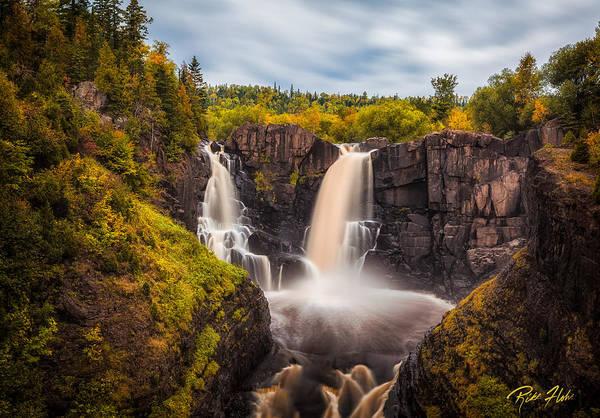Photograph - Autumn At The High Falls by Rikk Flohr