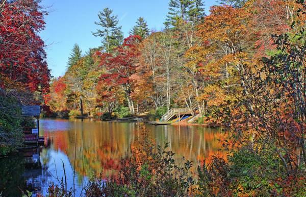 Nantahala Photograph - Autumn At The Lake 2 by HH Photography of Florida