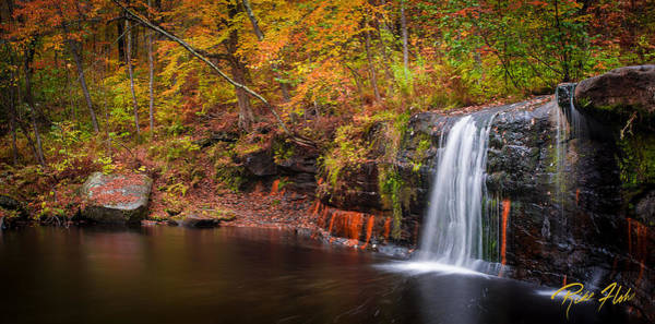 Photograph - Autumn At Wolf Creek Falls by Rikk Flohr