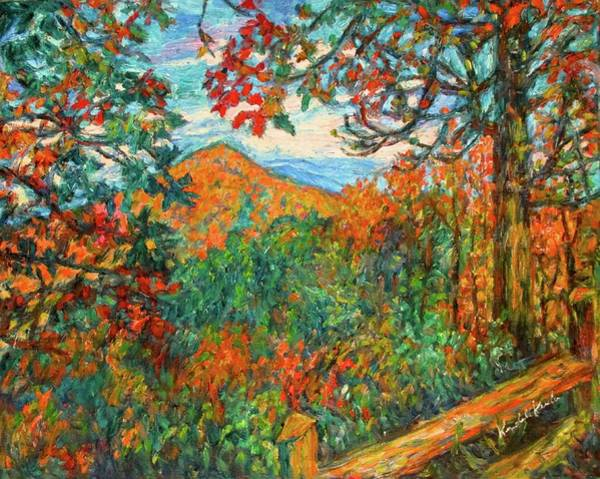 Painting - Autumn Beauty From Sharp Top by Kendall Kessler