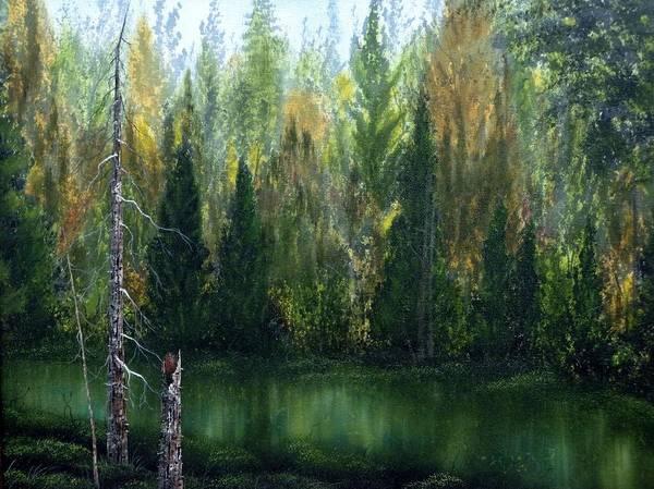Tacoma Painting - Autumn Beauty by Xochi Hughes Madera
