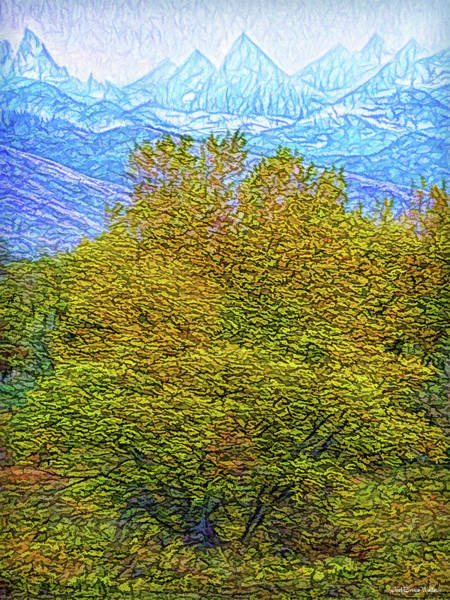 Digital Art - Autumn Becomes Winter by Joel Bruce Wallach