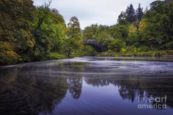 Photograph - Autumn Betws Y Coed by Ian Mitchell