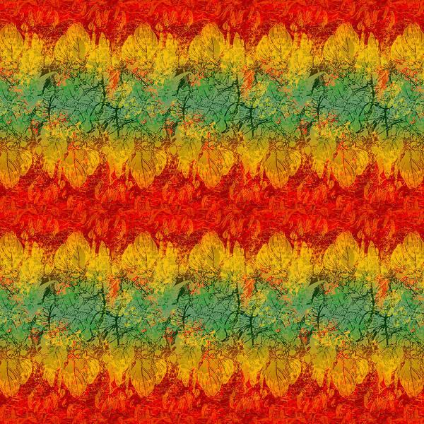 Thanksgiving Digital Art - Autumn Blaze by Antique Images