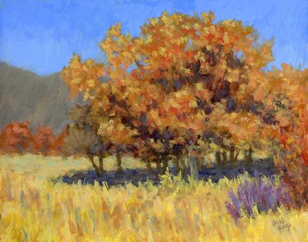Painting - Autumn Blaze by David King