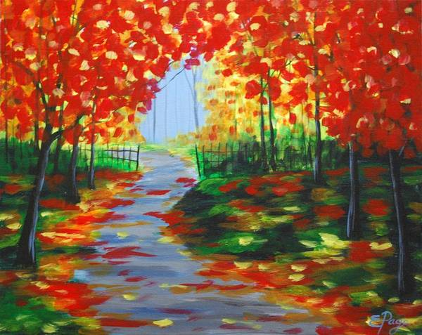 Painting - Autumn Blaze by Emily Page