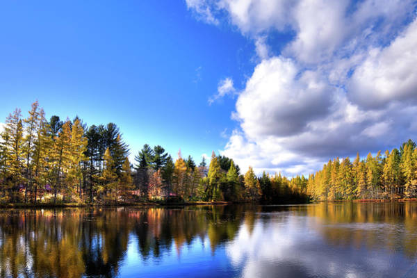Photograph - Autumn Calm At Woodcraft Camp by David Patterson