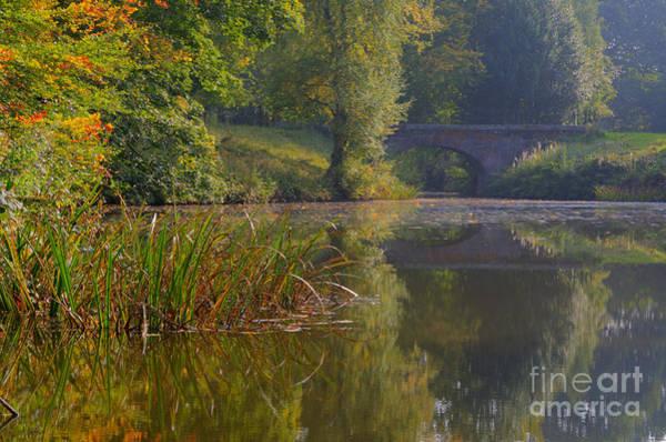 Stamford Bridge Wall Art - Photograph - Autumn Calm by Steev Stamford