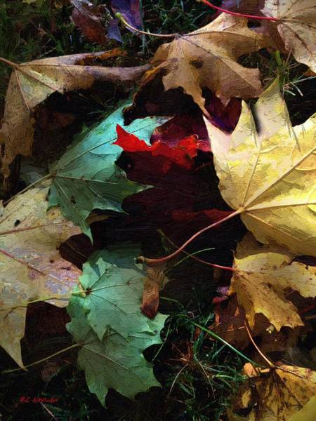 Painting - Autumn Carpet by RC DeWinter