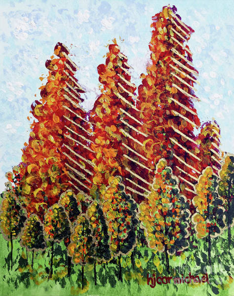Painting - Autumn Christmas by Holly Carmichael