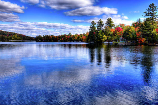 Photograph - Autumn Color On 6th Lake by David Patterson