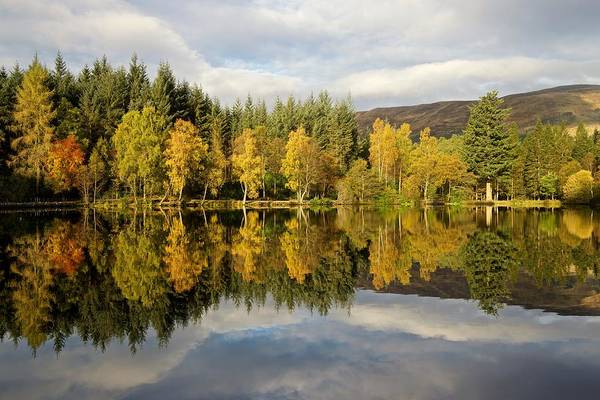 Photograph - Autumn Colours At Glencoe Lochan by Stephen Taylor