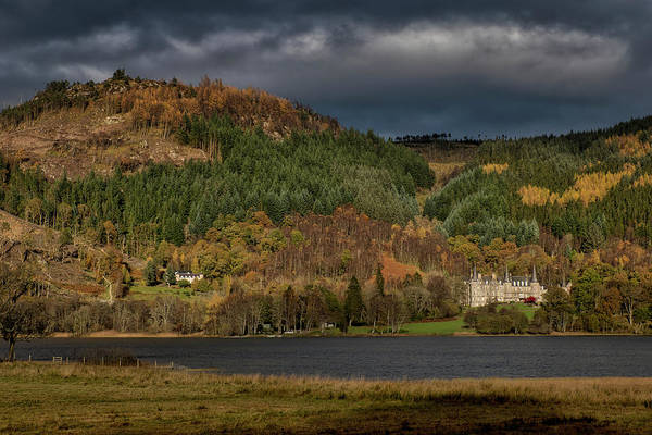Photograph - Autumn Colours In The Trossachs by Jeremy Lavender Photography