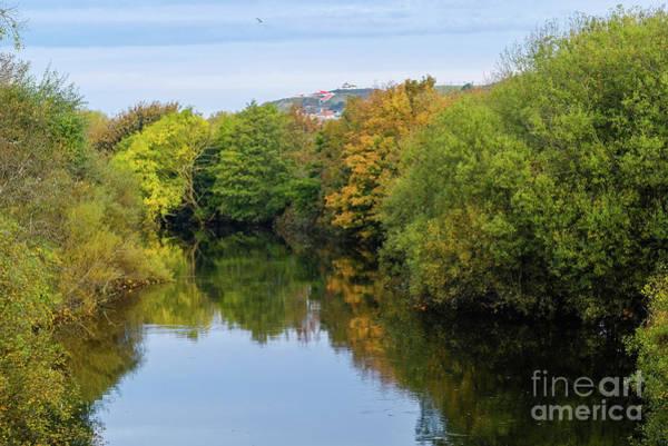 Photograph - Autumn Colours On The River Rheidol by Keith Morris