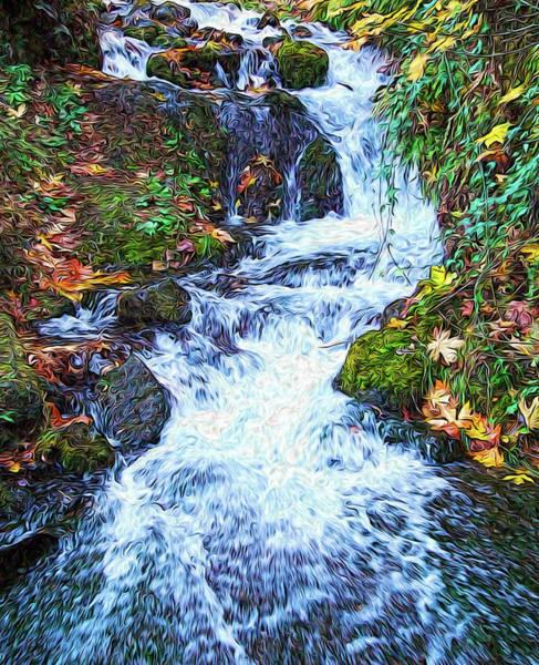 Photograph - Autumn Creek by Eastern Sierra Gallery