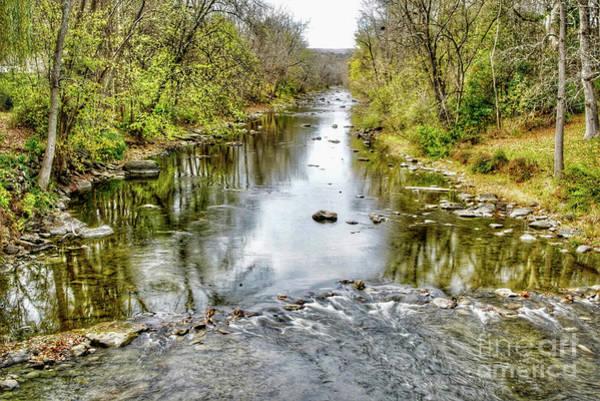 Wall Art - Photograph - Autumn Creek Reflections  by DAC Photo