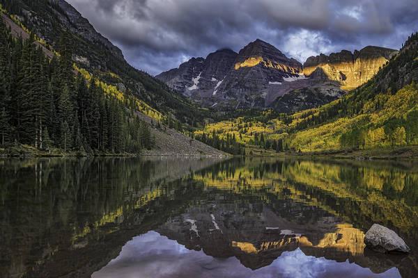 Photograph - Autumn Dawn by Bitter Buffalo Photography