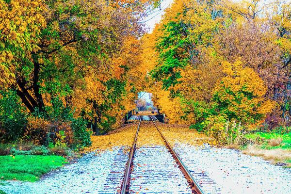 Photograph - Autumn Days by Jim Lepard