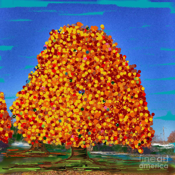 Digital Art - Autumn Dream by Jenny Revitz Soper
