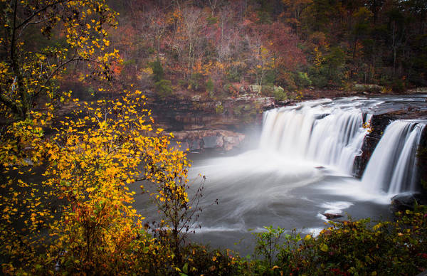 Photograph - Autumn Dreams By Little River Falls by Parker Cunningham