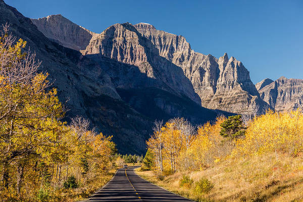 Photograph - Autumn Drive In The Rockies by Pierre Leclerc Photography