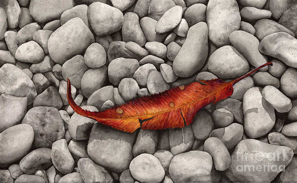 Wall Art - Painting - Autumn Epilogue by Hailey E Herrera