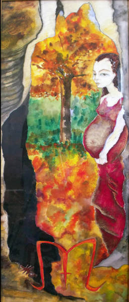 Gestation Painting - Autumn by Erika Brown