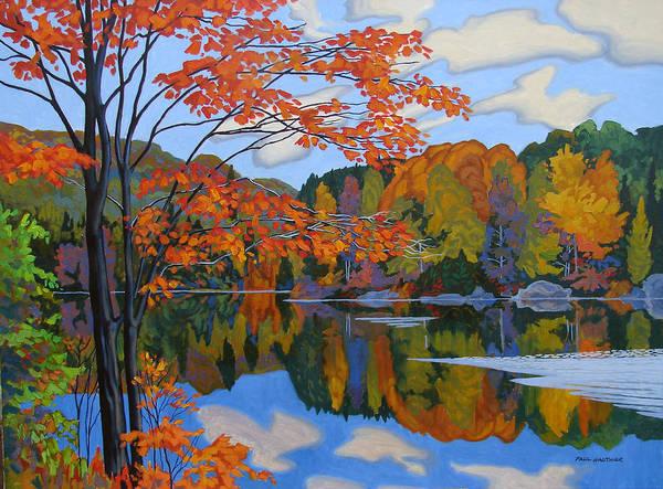 Wall Art - Painting - Autumn Foliage Algonquin Park by Paul Gauthier