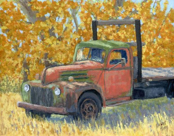 Painting - Autumn Ford by David King
