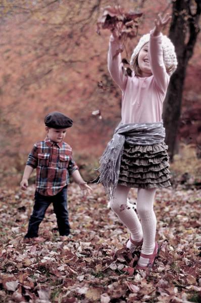 Wall Art - Photograph - Autumn Fun by Aneta  Berghane