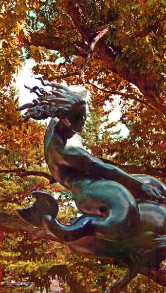 Bronze Leaf Wall Art - Photograph - Autumn Fury  by Garth Glazier