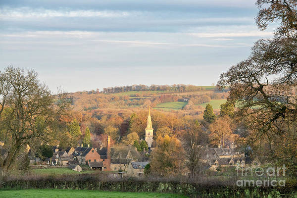 Photograph - Autumn Glow Lower Slaughter by Tim Gainey