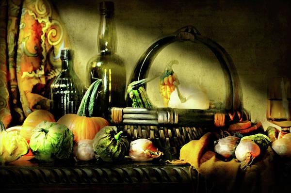 Wall Art - Photograph - Autumn Gourds by Diana Angstadt