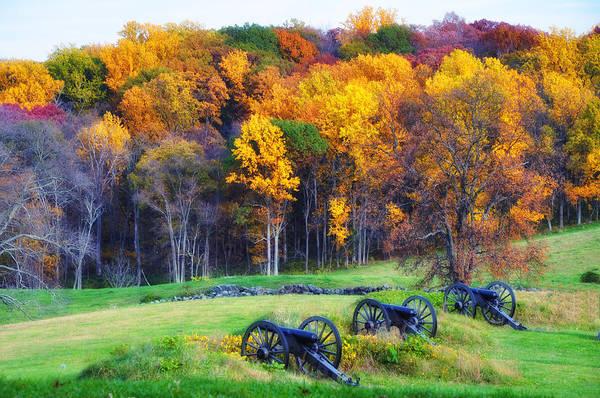 Photograph - Autumn Guns by Bill Cannon