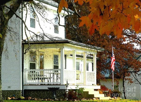 Christine Falls Photograph - Autumn In America II by Christine Belt