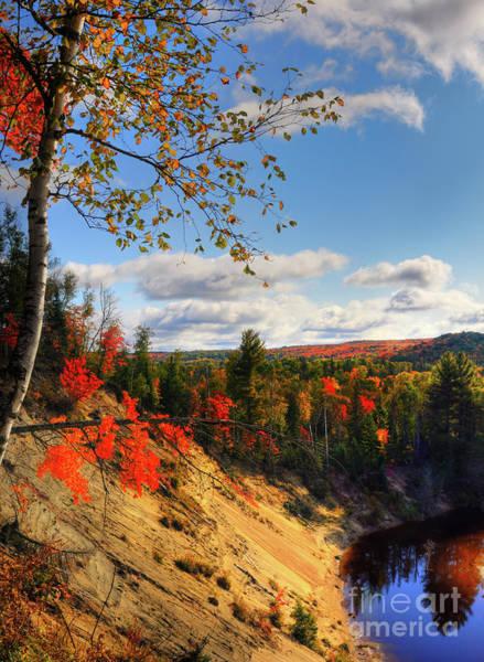 Birch River Photograph - Autumn In Arrowhead Provincial Park by Oleksiy Maksymenko