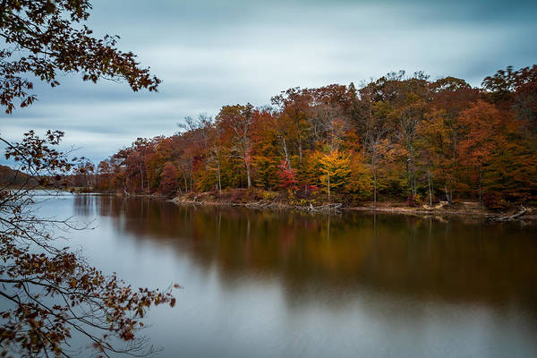 Photograph - Autumn In Brown County - Long Exposure by Ron Pate
